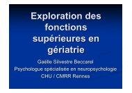 Bilan neuropsychologique - SGOC