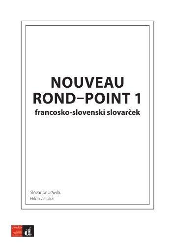 Nouveau Rond Point 1 - dodatek k učbeniku (0,16 MB) - Srednja.net