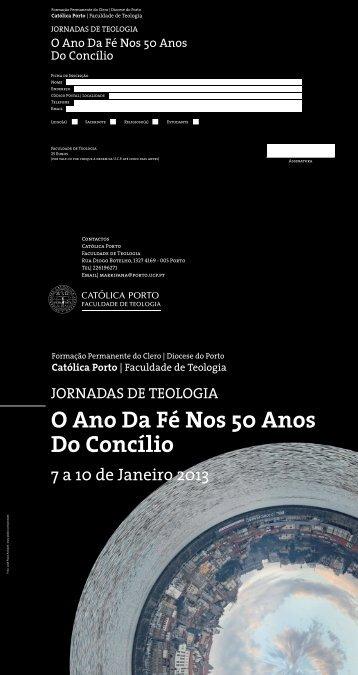 Jornadas de Teologia 2013 - Diocese do Porto