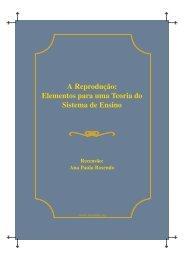 A Reprodução: Elementos para uma Teoria do Sistema ... - LusoSofia