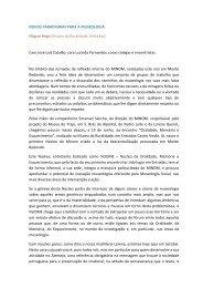 NOVOS PARADIGMAS PARA A MUSEOLOGIA Miguel Rego ...