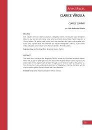 clarice vírgula - CEART - Udesc