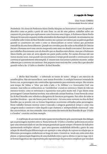 Des(a)fiando Discursos - Universidade Aberta