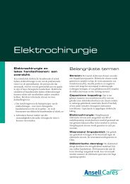 Elektrochirurgie - Ansell Healthcare Europe