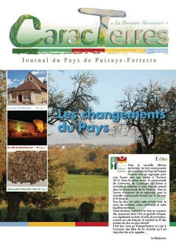 n°29 – automne 2012 - Maison de la Puisaye Forterre