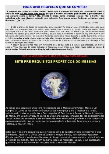 172 - Mais uma profecia que se cumpre - Maria Mãe da Igreja