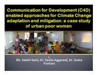 enabled approaches for Climate Change adaptation and mitigation