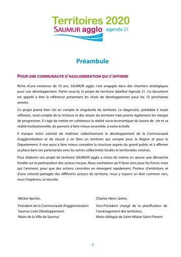 Télécharger le diagnostic - Communauté d'agglomération Saumur