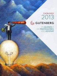 Catálogo Institucional Gutenberg - Autêntica