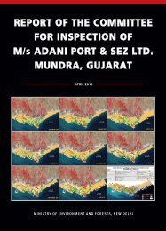 Report of the Committee for Inspection of M/s Adani Port & SEZ Ltd ...