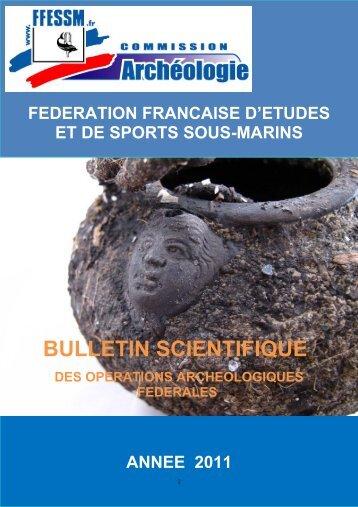 Bulletin Archéo FFESSM 2011 - Commission Départementale d ...
