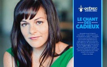 cadieux - Le Québec, une histoire de famille