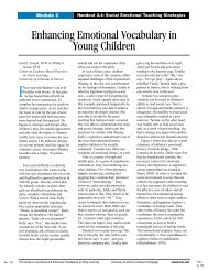 File A – Enhancing Emotional Vocabulary in Young Children