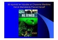 60 épaves en Vendée et Charente Maritime - Grieme