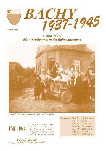 Edition spéciale 6 juin 1944 le débarquement 6 juin 2004 ... - Bachy