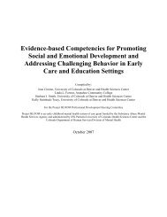 Evidence-based Competencies for Promoting Social and Emotional ...
