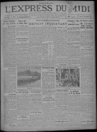 30 septembre 1929 - Bibliothèque de Toulouse