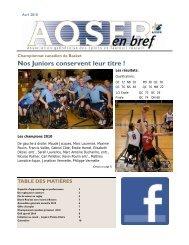 Avril 2010.pub - Association québécoise des sports en fauteuil roulant