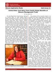 Central New York Dairy Farm Family Reaps Benefits of Manure ...