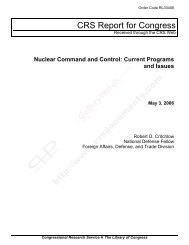 Nuclear Command and Control - Center for Strategic and ...
