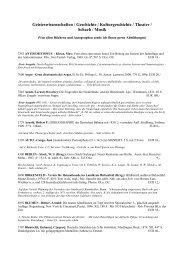 Geisteswissenschaften / Geschichte ... - Antiquariat Richard Hußlein