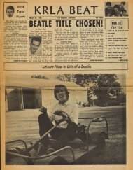 KRLA Beat March 31, 1965