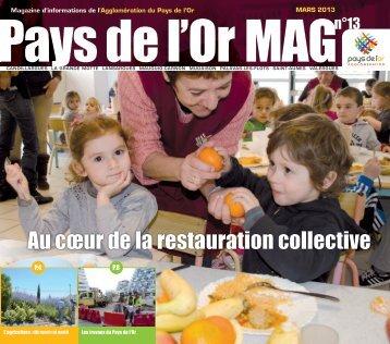 Magazine mars 2013 - Communauté de communes du Pays de l'Or