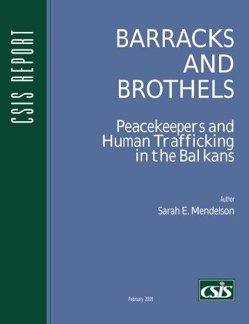 Barracks and Brothels - Center for Strategic and International Studies