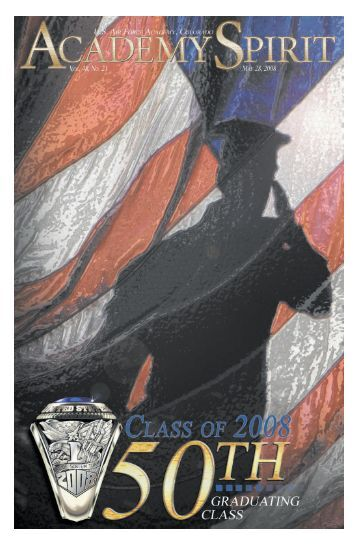 graduation issue 08_ take 2.qxp - United States Air Force Academy