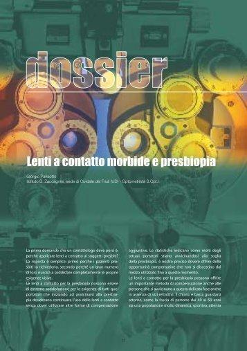 lenti a contatto morbide e presbiopia.pdf - Professional Optometry
