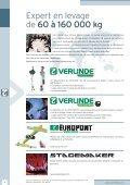 Palans et treuils électriques Palans et treuils ... - ateliers Mathieu - Page 4