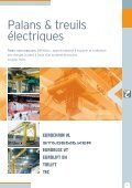 Palans et treuils électriques Palans et treuils ... - ateliers Mathieu - Page 7