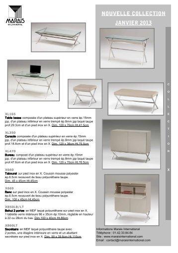 Télécharger le catalogue marais_new2013.pdf - Sifas