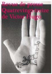 Revue de presse Quatrevingt-treize de Victor Hugo