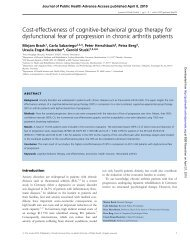 Cost-effectiveness of cognitive-behavioral group therapy for ...