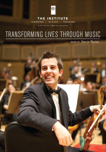 2010/11 Year in Review (PDF) - Chicago Symphony Orchestra