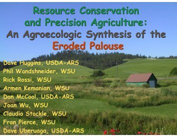 Resource Conservation and Precision Agriculture: An Agroecologic ...