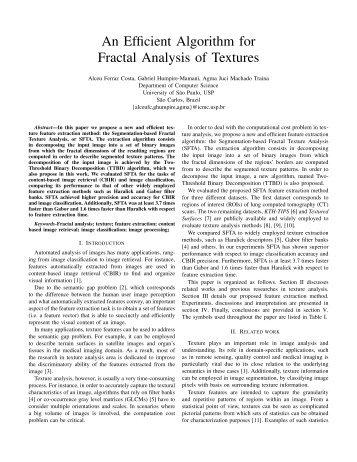 An Efficient Algorithm for Fractal Analysis of Textures - Decom