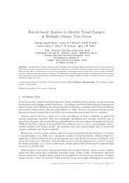 Fractal-based Analysis to Identify Trend Changes ... - Ainfo - Embrapa