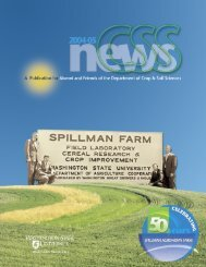 CSS News 2004-05 pdf - Dept. of Crop and Soil Sciences ...