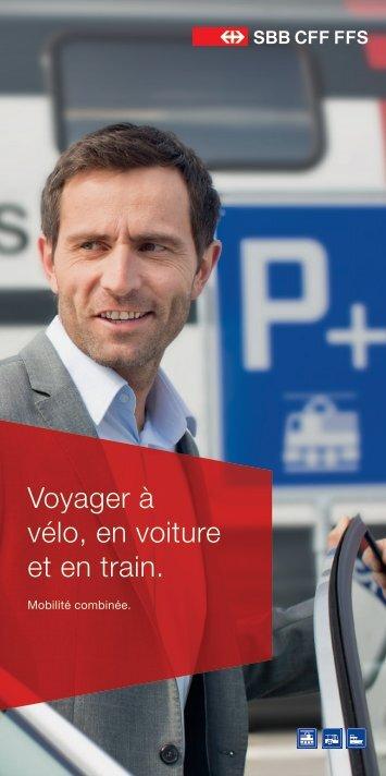 Voyager à vélo, en voiture et en train. - CFF