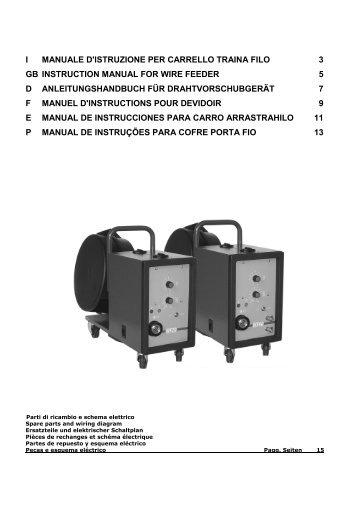 i manuale d'istruzione per carrello traina filo 3 gb ... - Elettro CF