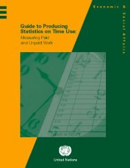 Guide to Producing Statistics on Time Use: Measuring Paid and