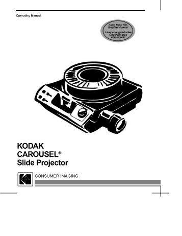 service manual kodak carousel 600 600h 650 micro tools rh yumpu com Kodak Carousel Projector Model 550 kodak carousel 850h parts