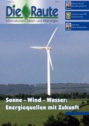 Sonne – Wind – Wasser - CSU Neumarkt