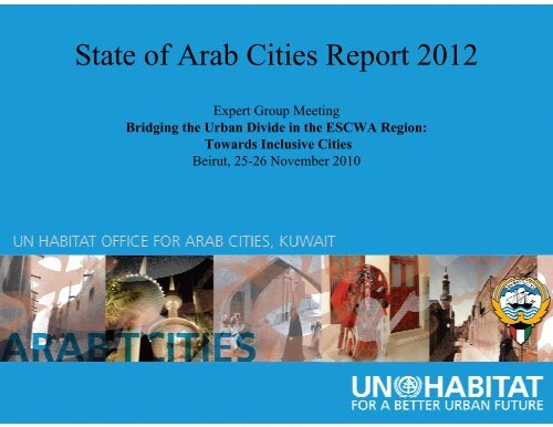 State of Arab Cities Report 2012 - Economic and Social Commission ...