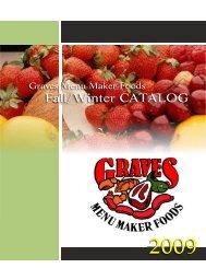 Product Catalog - Summer - Menu Maker Foods