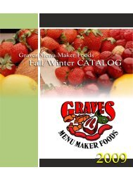 Product Catalog - Summer - Menu Maker Foods