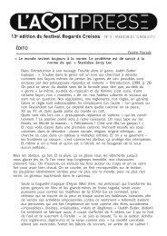 Télécharger l'Agit-press du 15 mai - Troisième bureau Théâtre ...