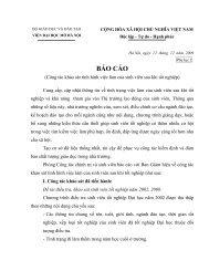 Báo cáo điều tra Sinh viên tốt nghiệp - Đại học Mở Hà Nội